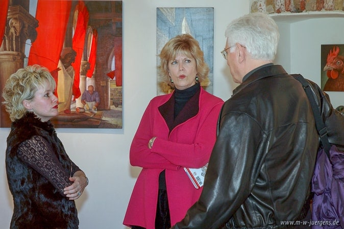 New Realism Art, Gallery Holly Snapp, Exhibition, Venice, Manfred W. Juergense