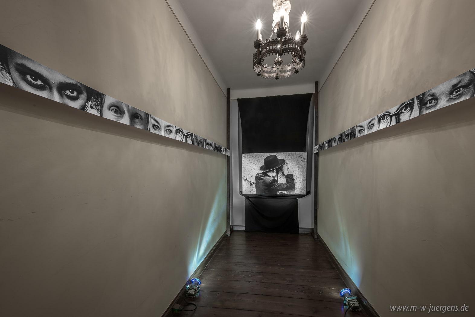 Ausstellungen Schloss Evenburg Leer, Kunst in Ostfriesland, Fotografie und Malerei, Katharina John, Manfred W. Jürgens, Auf Augenhöhe