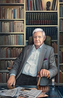 Helmut Schmidt Hamburg, New Realism Art, Paintings, Manfred W. Juergens