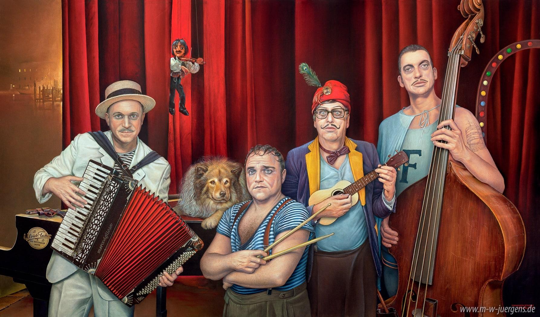 Ulrich Tukur & Die Rhythmus Boys, Manfred W. Jürgens